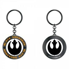 Star Wars Black Squadron Keychain Force Awakens EP7 Rebel Alliance Charm - NEW