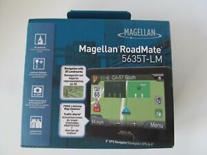 "Magellan RoadMate 5635T-LM GPS Navigator - 5"" Display - Canada/USA/Puerto Rico"