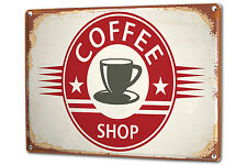 Tin Sign XXL Fun Kitchen Coffee shop metal plate plaque