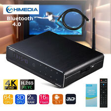 HiMedia Q10 PRO Android Quad Core 4K TV Box UHD Media Player Wifi Bluetooth