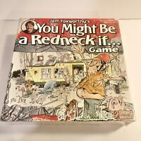 Jeff Foxworthy's YOU MIGHT BE A REDNECK IF Game Board Game -NEW SEALED