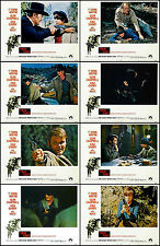 JOHN WAYNE GLEN CAMPBELL KIM DARBY TRUE GRIT SET OF 8 INDIVIDUAL LC PRINTS 1969