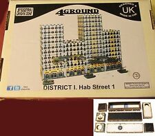 4Ground 10S-JUZ-116 10mm Urban Zone District I. Hab Block Street #1 Terrain NIB