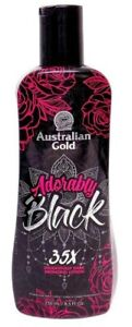Australian Gold ADORABLY BLACK 35X Dark Bronzer Tanning Lotion 8.5oz