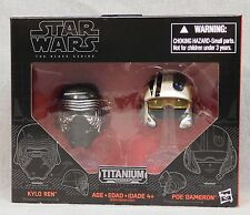 Star Wars Black Series Metal Helmets - Kylo Ren - Poe Dameron - Wave 1