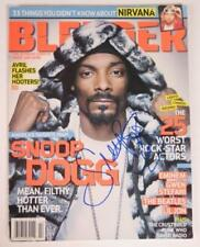 "Snoop Dogg SNOOP DOGGY DOG Signed Autograph ""Blender"" Magazine"