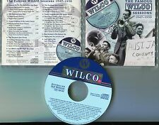 Australian Jazz CD THE FAMOUS WILCO SESSIONS 1947-1950 - 22-track-CD # AJR 002
