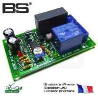 Relais temporisation tempo relay delais delay 230V secteur 10 A 0 - 3 minutes