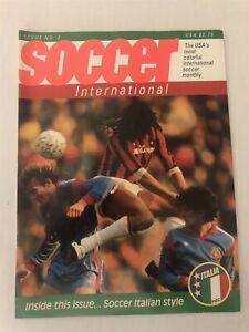 1989 SOCCER INTERNATIONAL Issue #2 AC Milan RUUD GULLIT European Cup ROMANIANS