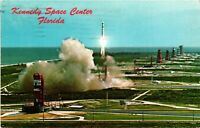 Vintage Postcard  - NASA - Kennedy Space Center Cape Canaveral Florida FL #1116