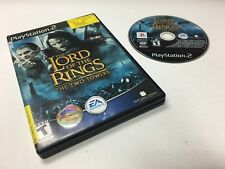 The Lord of The Rings The Two Towers PS2 Sony Playstation 2