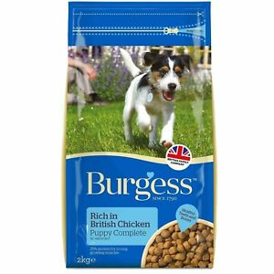 Burgess PUPPY with Chicken 12.5kg 10% off with Mulitibuy - NEXT DAY DELIVERY-
