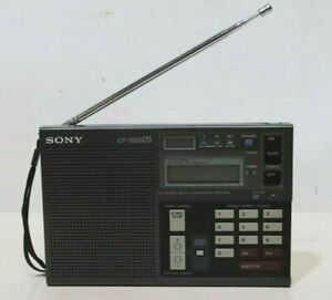 Sony ICF-7600DS FM/LW/MW/World Band Reciever Radio Made in Japan - 232