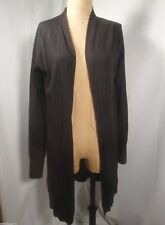 DOMENICO VACCA Cashmere Blend Open Front Cardigan Sweater Sz EU 46 / Medium
