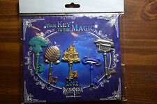 Disney Pin 88687 Your Key to the Magic 2012 Passholder NIP NOC EPCOT WDW 5 pc