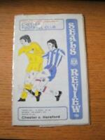 14/08/1976 Chester v Hereford United [Football League Cup] . No obvious faults,