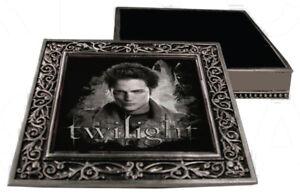 NEW NECA Twilight Eclipse Pewter Metal Jewellery Box - Edward Cullen