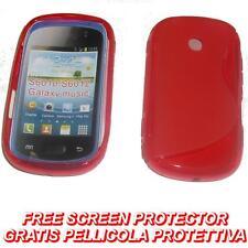 Pellicola+Custodia cover case WAVE ROSSA per Samsung Galaxy Music S6010 (H5)