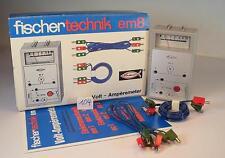 Fischertechnik 30344 em 8 Volt Amperemeter OVP #104