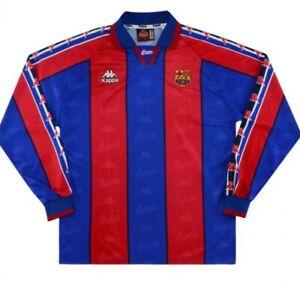 1996 FC Barcelona Retro Shirt Size Large