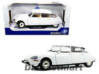 Solido 1:18 1972 Citroen D Special White Diecast Model Car S1800705 New In Box