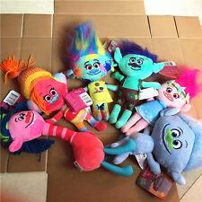 New 2016 DreamWorks Movie Trolls Plush Stuffed Doll Toy Kid  Set of 6