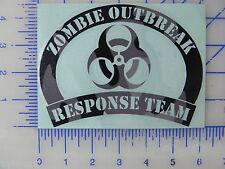 Zombie Outbreak Response Team  - Camo print vinyl decal / sticker
