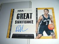 2014-15 NBA HOOPS GREAT SIGNIFICANCE KYLE ANDERSON #94 Rookie Auto.