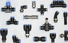 Pneumatik Steckverschraubung Steckverbinder Schnellsteckverbinder Druckluft