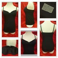 Ex Store Cotton Jersey Underwired Camisole Black