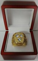 Wayne Gretzky - 1987 Edmonton Oilers Stanley Cup Hockey Ring With Wooden Box