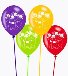 TELETUBBIES Latex Party Balloons x 6