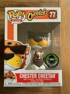 Chester Cheetah Cheetos Diamond Glitter 77 Funko Pop Vinyl New in Box
