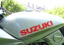 2 x autocollant pour réservoir rouge GSX 1100 S 750 Katana.