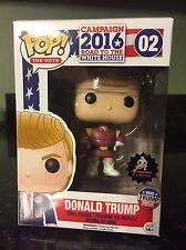 Funko Pop! The Vote - Donald Trump #02 Zapp Brannigan Futurama *CUSTOM *NEW