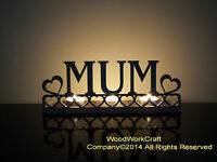Tea light holder MUM a perfect Mother's day gift or Birthday present