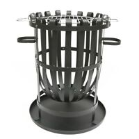 Pagoda Fire Basket With Grill,