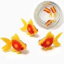 3PCS Aquarium Tank Plastic Artificial Swimming Fake Fish Ornament Decoration New