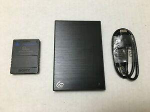 External HDD 1TB FMCB PS2 Hard Drive With Mixed Best Retro Games-Get N 3-4 Days!