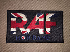 Raf Mod Band Embroidered Scooter Patch!