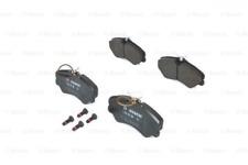 Bremsbelagsatz, Scheibenbremse für Bremsanlage Vorderachse BOSCH 0 986 460 998