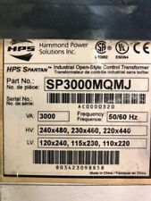 Hammond, SP3000MQMJ, Transformer, 3kVA, 240/480-120/240V 50/60 Hz