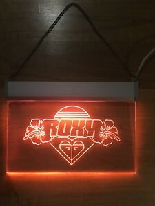 Vintage ROXY Sign Light 30 X 21-Surfing decor, Wall hanging