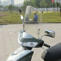 Motorcycle Parts Windscreen Wind Deflectors Scratch Resistant Scooter Windshield