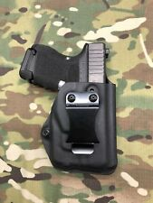 Black Kydex IWB Holster for Glock 26/27 Streamlight TLR-6