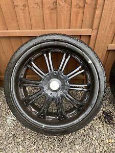 Wolfrace 22 Inch Alloy Wheels Vw T5 5x120