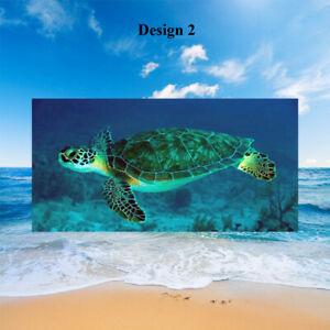 BOHO Sea Turtle Octopus Shark Dolphin Fish Yoga Bath Swim Spa Beach Towel Gift