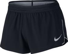 "Mens Nike Running Aeroswift 4"" Shorts Fly Vent Dri Fit Size Xl. 834145-010"