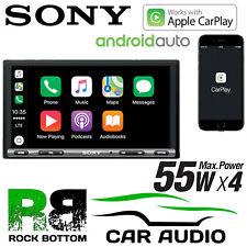 "Sony XAV-AX3005DB 6.95"" Mechless Apple CarPlay Android Auto Radio de Aplicación de Bluetooth"