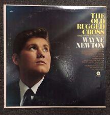 Wayne Newton Old Rugged Cross LP Vinyl 1966 Country Folk Hank Levine Capitol